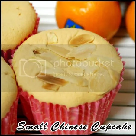 Small Chinese New Year Cupcake