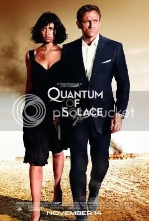 Quantum of Solace (2008) poster