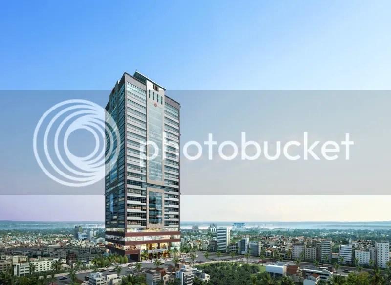 Phnom Penh Tower Constructing Cambodia