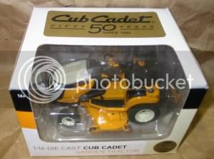 CUB CADET TOYS