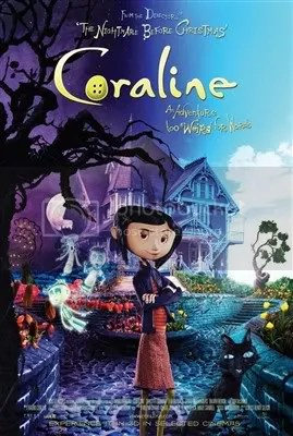 Coraline Movie Poster - Colorful Poster
