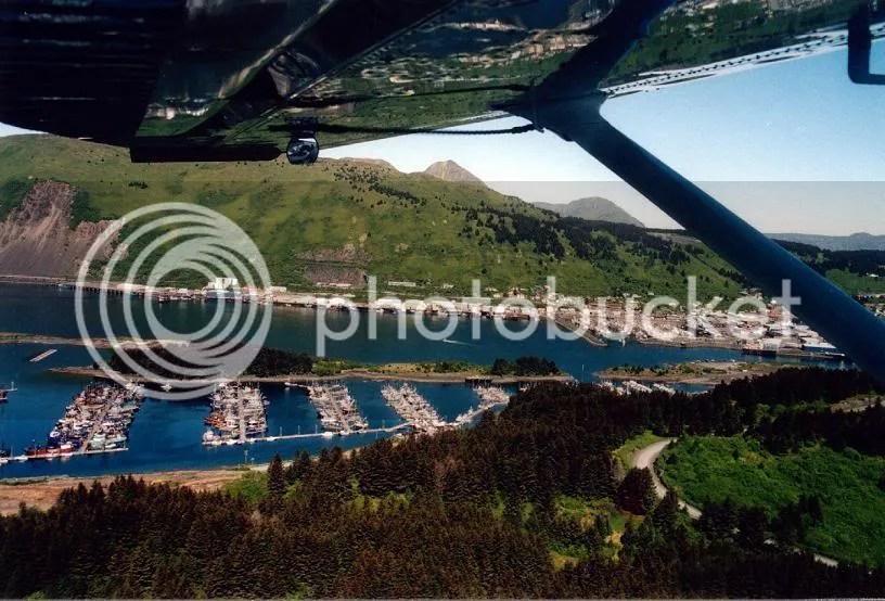 Kodiak from the air