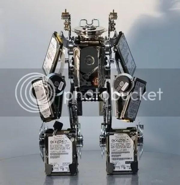 Robot Disco Duro