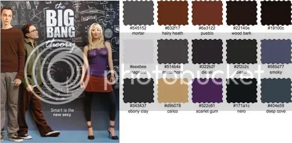 The Big Bang Paleta de Color