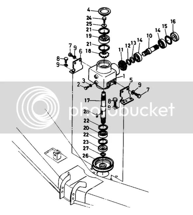 Kubota Zd21 Mower Deck Parts Diagram