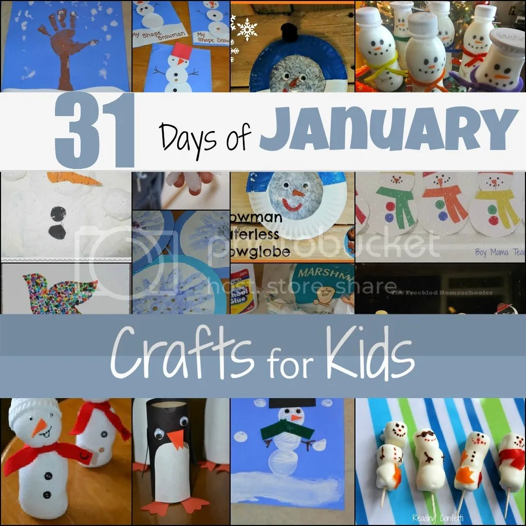 31 Days Of Kids Crafts Lesson Plans