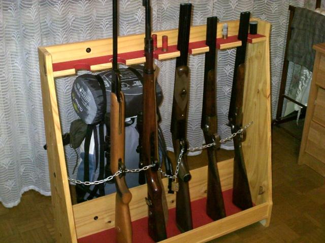 Ratellier Vertical 8 Fusil