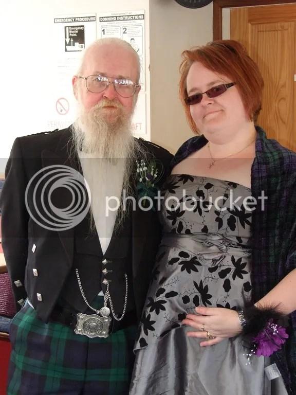 Laura and John