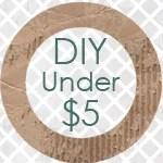 DIY under $5