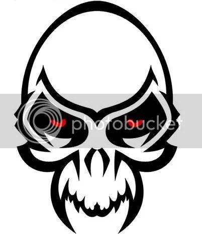 skull tattoos,skull tattoo designs,tribal skulls