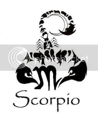 Zodiac Tattoo Symbols: Scorpio Tattoos