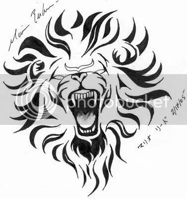 Symbol Leo Tattoo 02