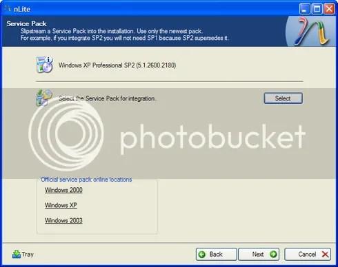 Tích hợp Windows XP Service Pack 3, Internet Explorer 7 và Windows Media Player 11 vào đĩa cài đặt Windows XP