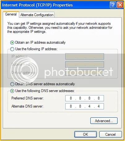 Sử dụng Google Public DNS để duyệt web nhanh hơn