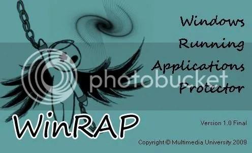 Ẩn các ứng dụng và các chương trình trong Windows với WinRAP