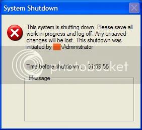 Hẹn giờ tắt máy tính không cần dùng phần mềm