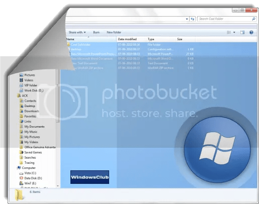 Windows 7 Folder Background Changer: Thay đổi hình nền folder trong Windows 7