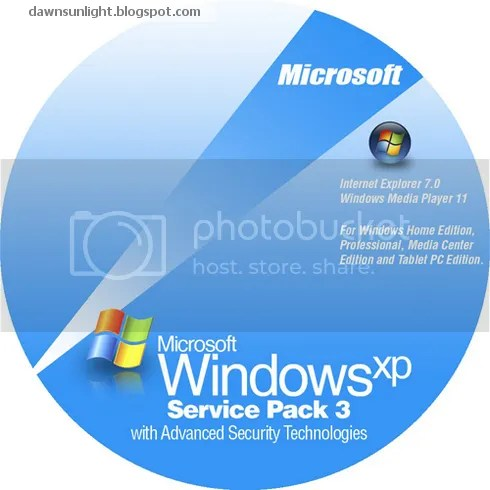 Tích hợp Windows XP Service Pack 3, Internet Explorer 7 và Windows Media Player 11 vào đĩa cài đặt Windows XP