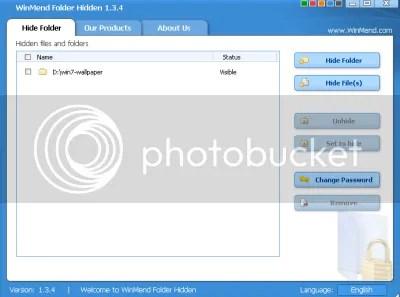 WinMend Folder Hidden: giấu file và folder trên ổ cứng và USB