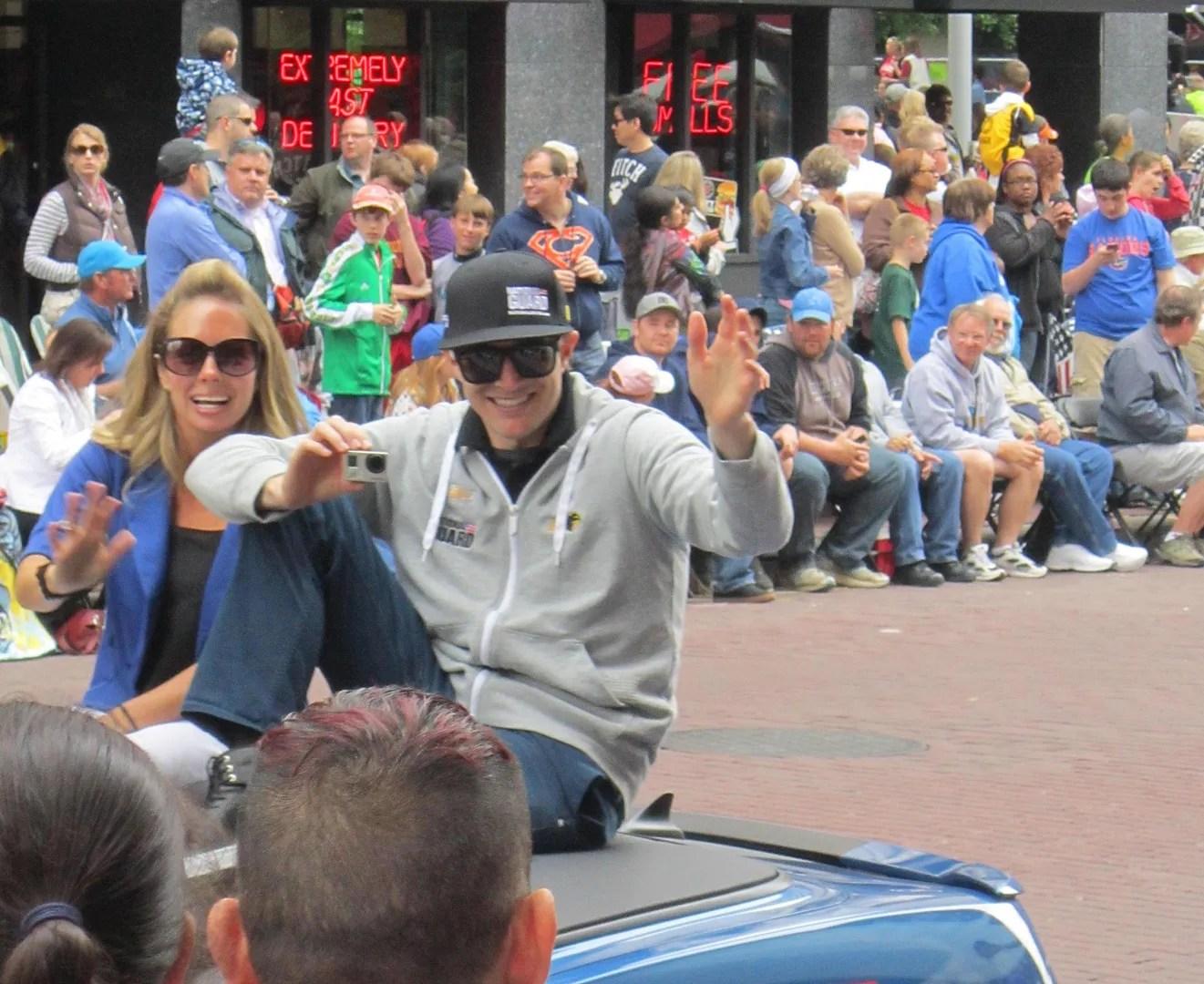 JR Hildebrand, Indianapolis, 500, 500 Festival Parade, Indianapolis, 2013