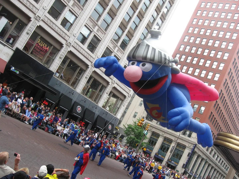 Super Grover, 500 Festival Parade 2013, Indianapolis