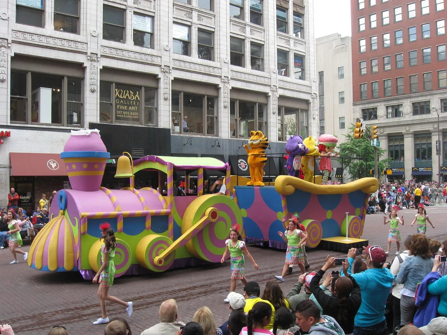 candy train, 500 Festival Parade 2013, Indianapolis
