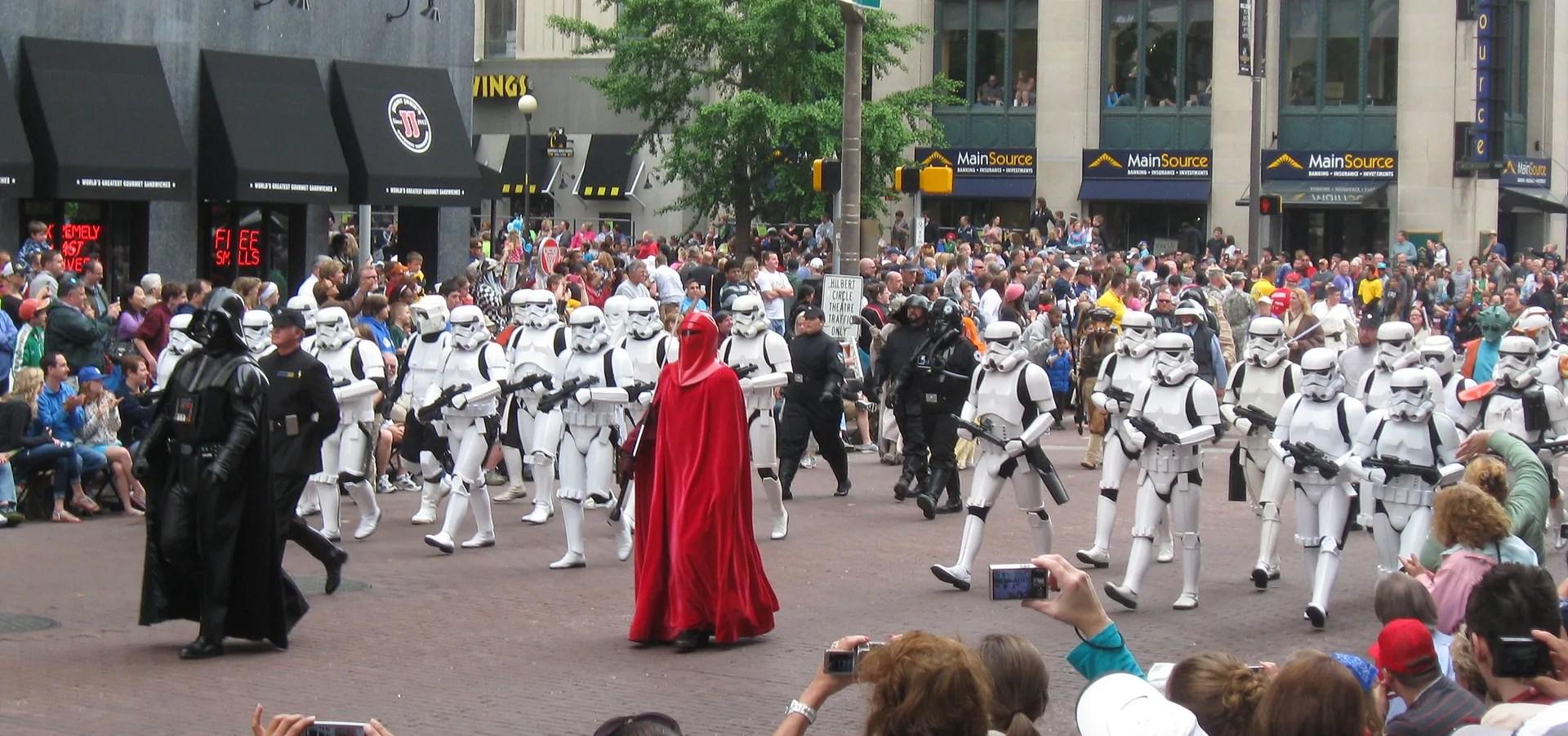 Darth Vader, 501st Legion, Star Wars, 500 Festival Parade 2013, Indianapolis
