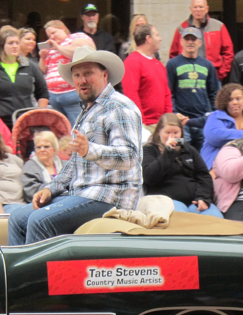 Tate Stevens, The X Factor, 500 Festival Parade, Indianapolis, 2013