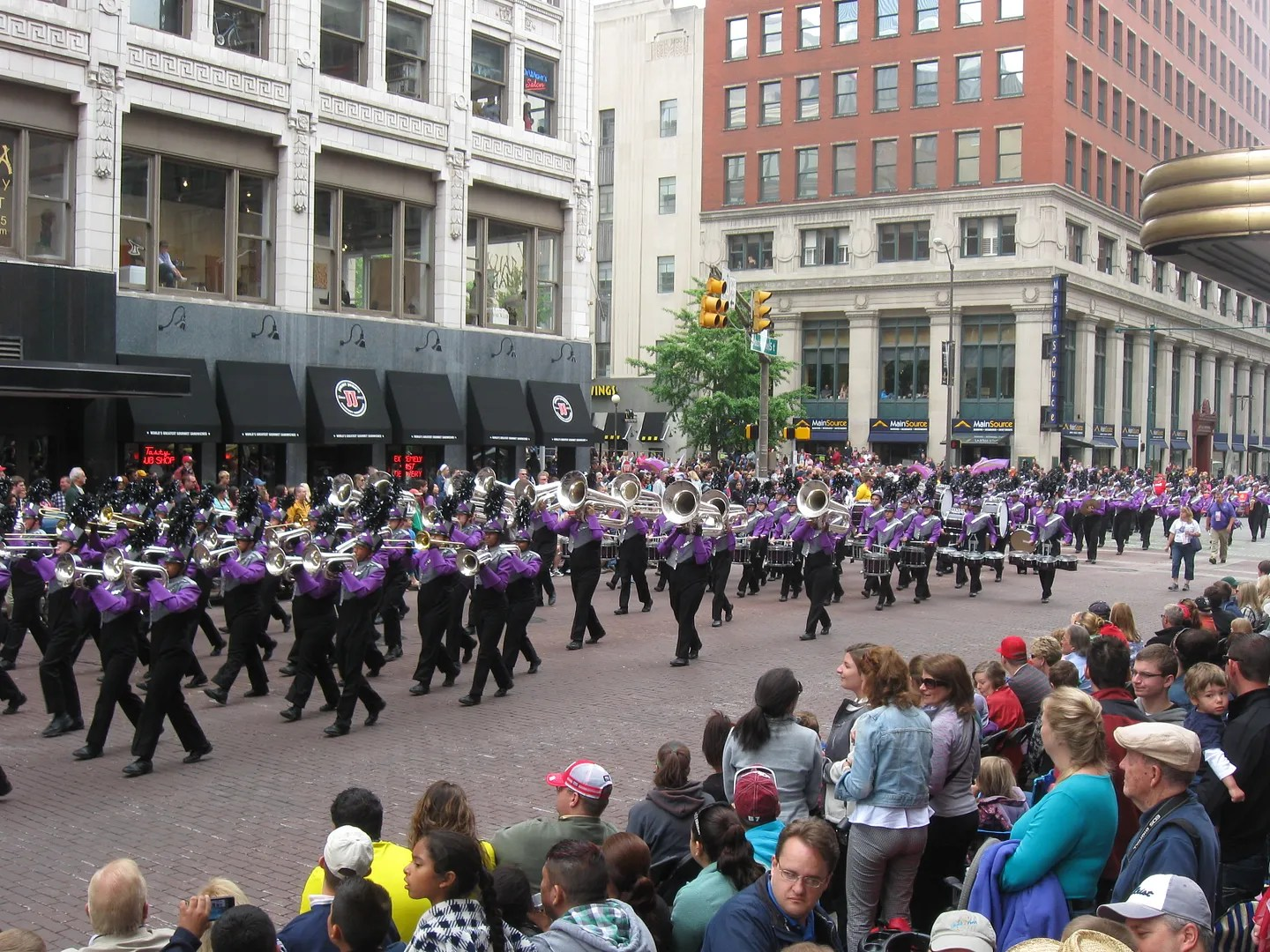 Ben Davis High School Marching Giants, 500 Festival Parade 2013, Indianapolis