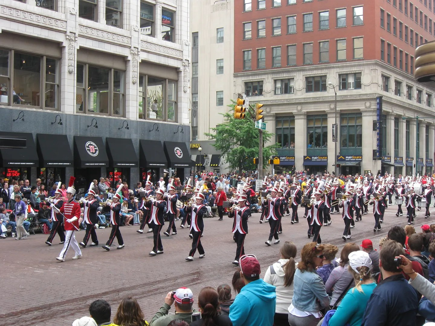 Palatine Marching Band, 500 Festival Parade 2013, Indianapolis