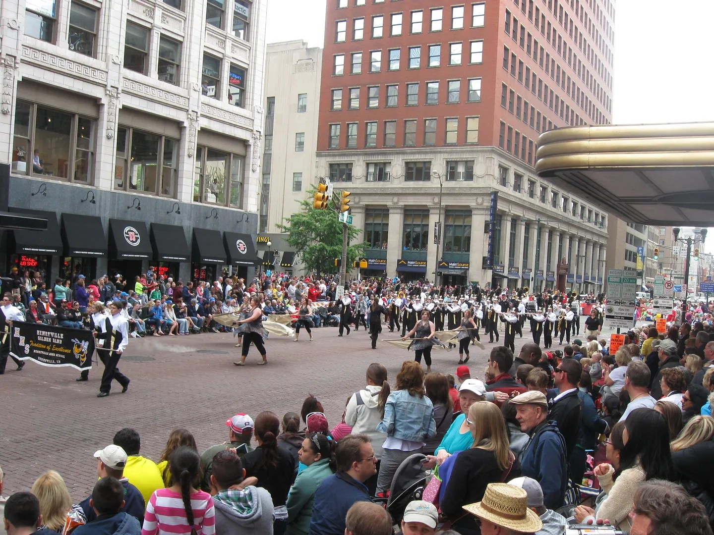 Henryville High School Marching Band, 500 Festival Parade 2013, Indianapolis
