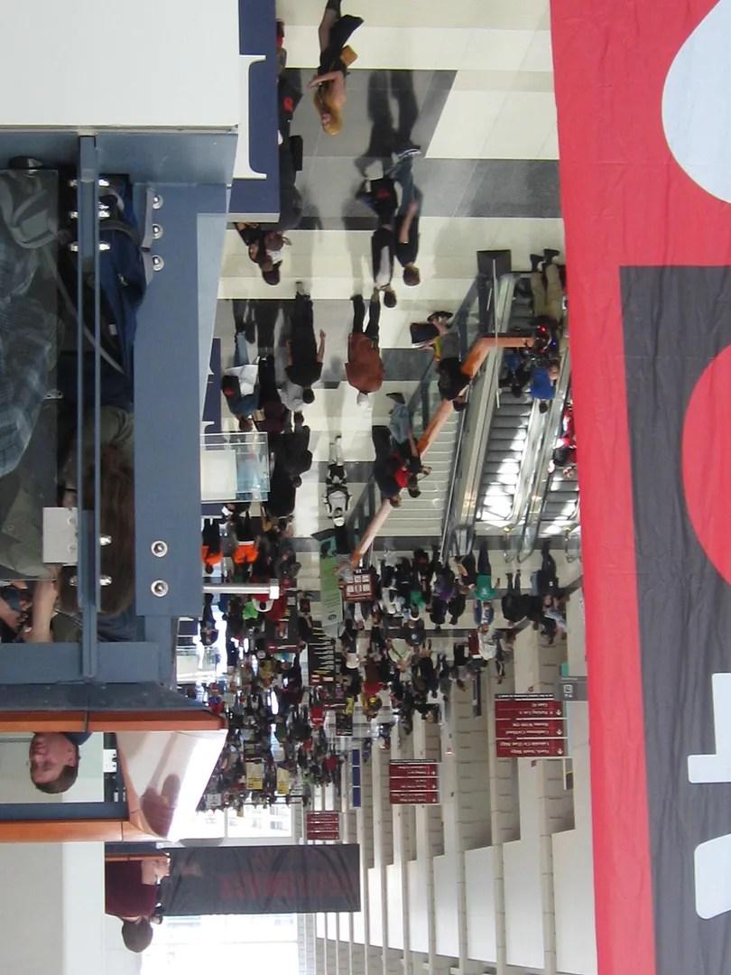 C2E2 lobby crowd