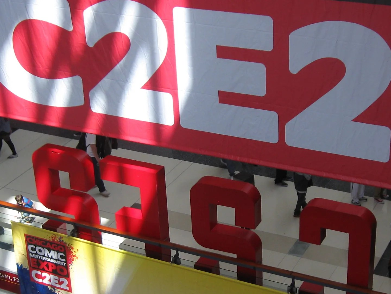 C2E2 banner, Chicago