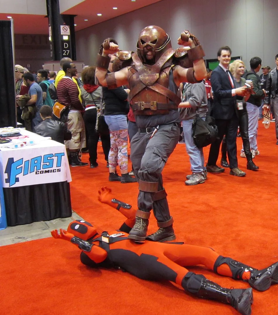 Juggernaut, Deadpool, C2E2