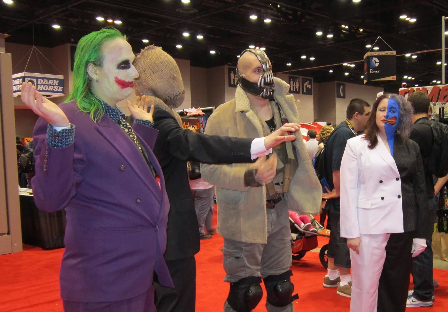 Joker, Scarecrow, Bane, Two-Face, C2E2