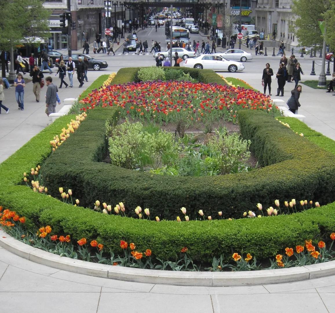 Millennium Park flowers, Chicago