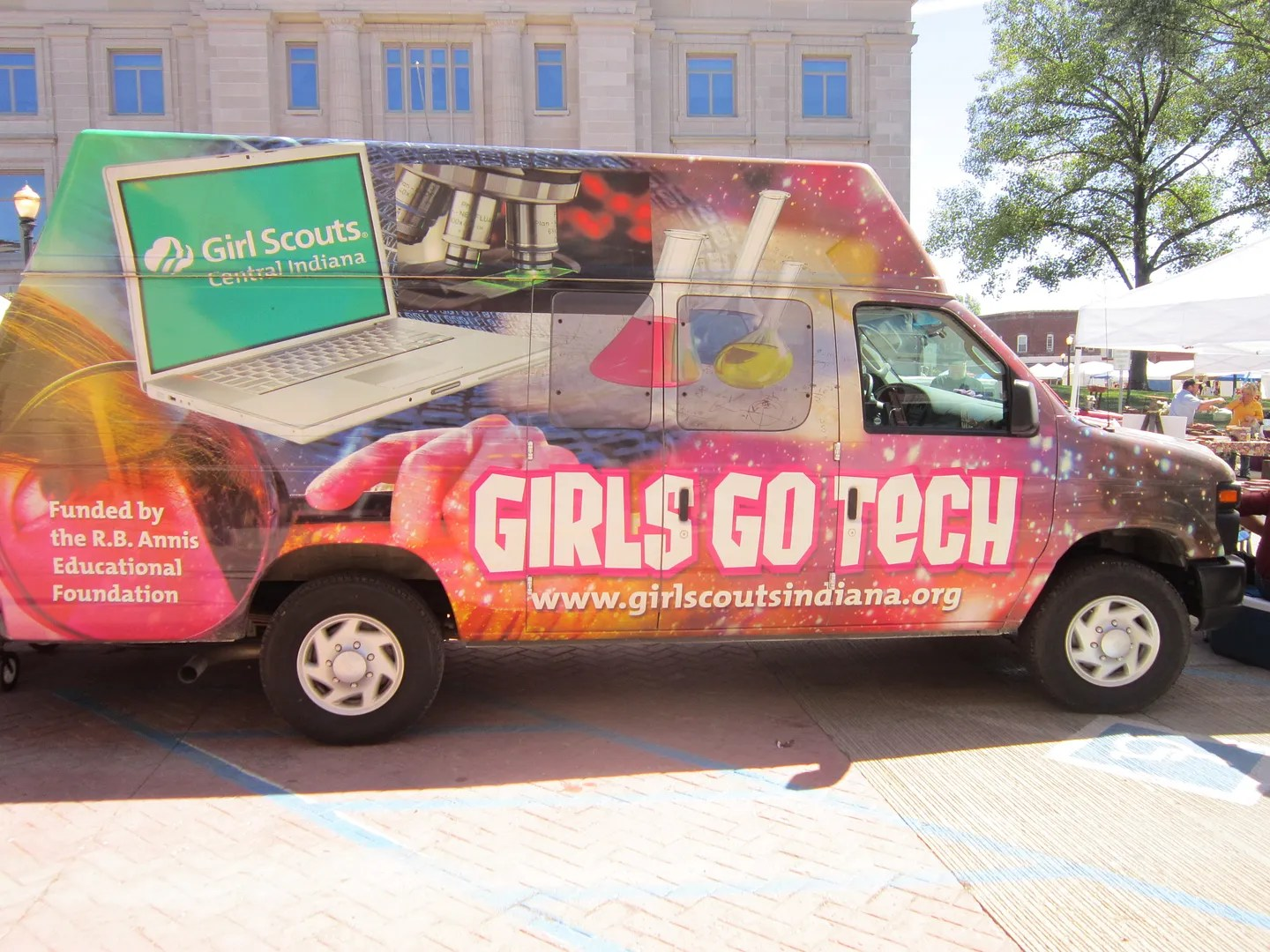 Girl Scouts, Danville Fair on the Square