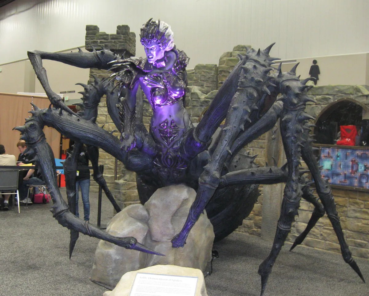 Lolth, Demon Queen of Dungeons & Dragons Spiders