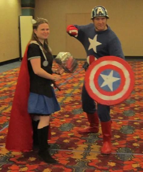 Thor, Captain America, GenCon 2013