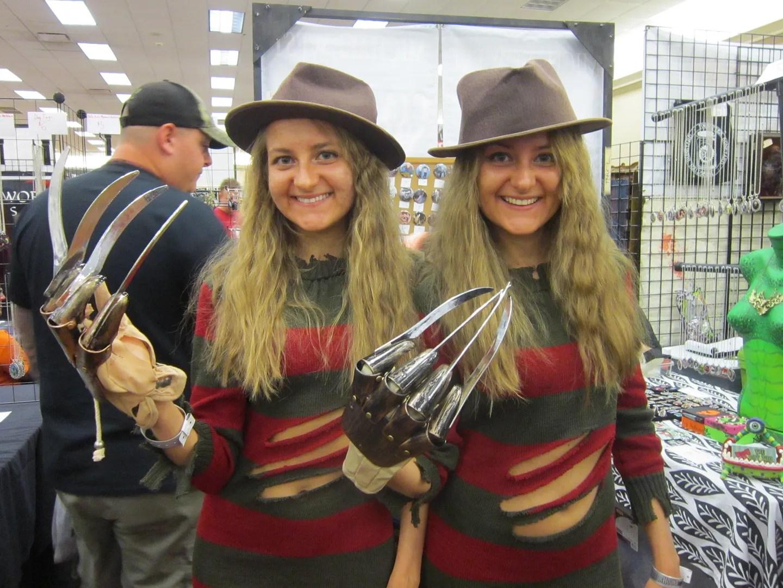 Freddy Krueger twins