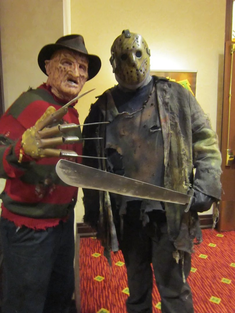 Freddy Krueger, Jason Voorhees, costumes