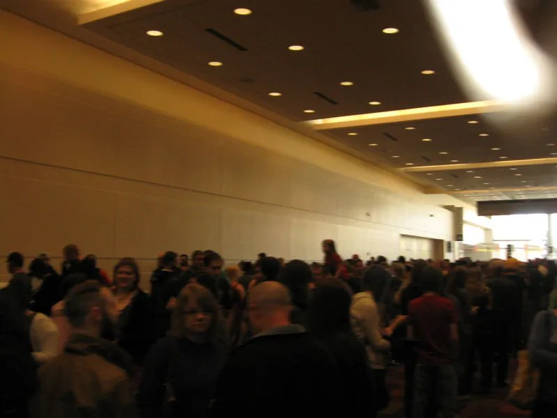 Indiana Comic Con, crowds, Indianapolis