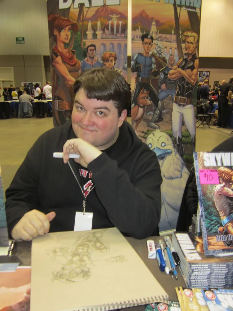 Jeremy Dale, Skyward, Indiana Comic Con 2014, Indianapolis