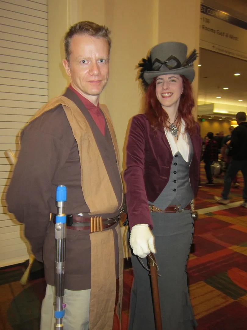 Jedi, steampunk, costumes, Indiana Comic Con 2014, Indianapolis