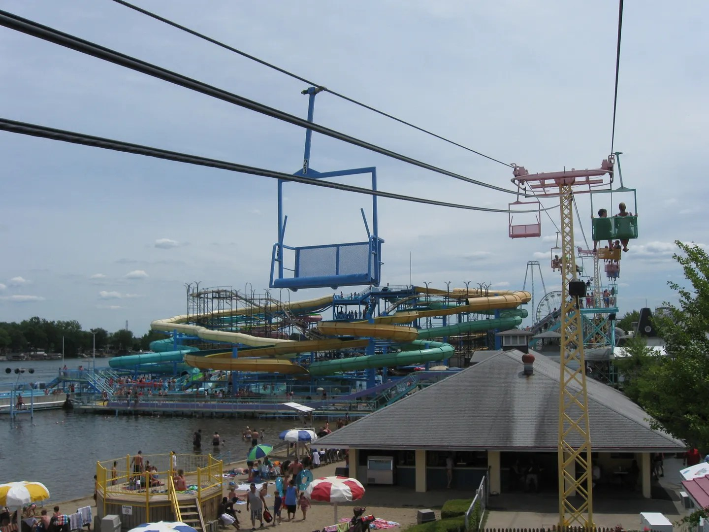 Skylift @ Indiana Beach