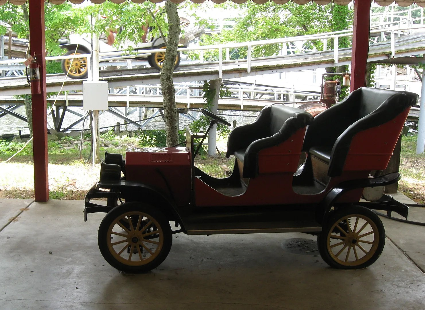 Antique autos @ Indiana Beach