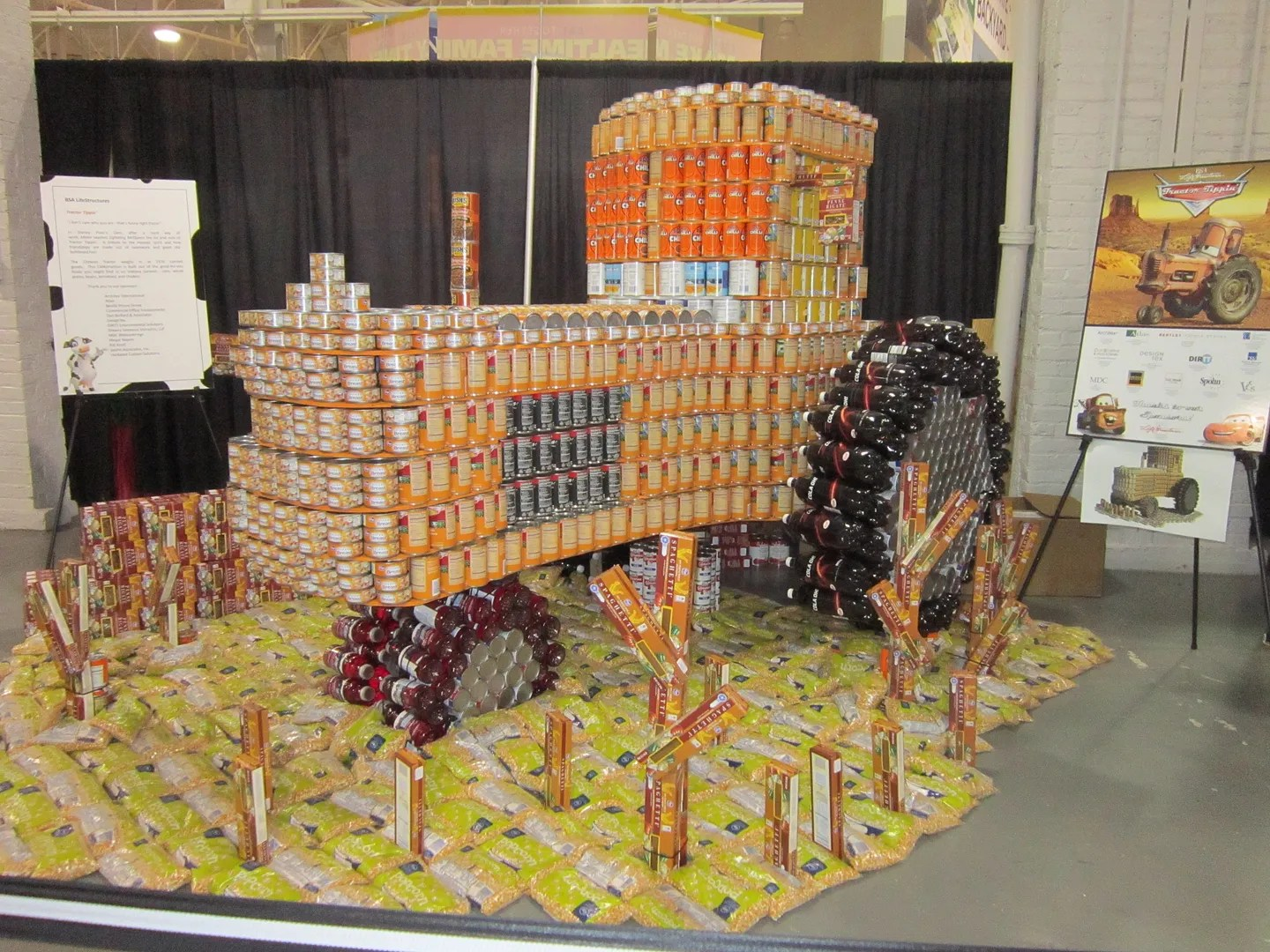 Tow Mater in Cans