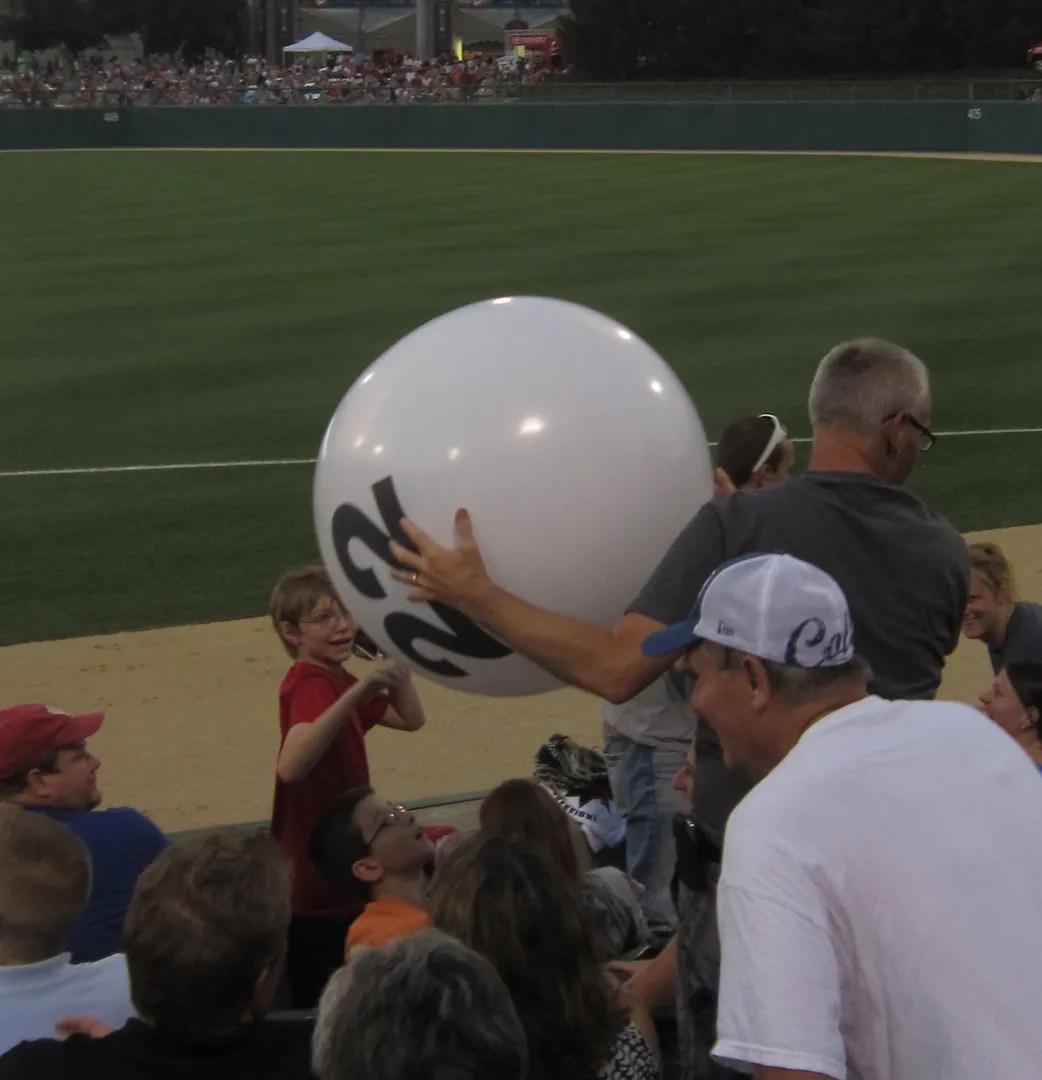 Hoosier Lottery ball, Victory Field