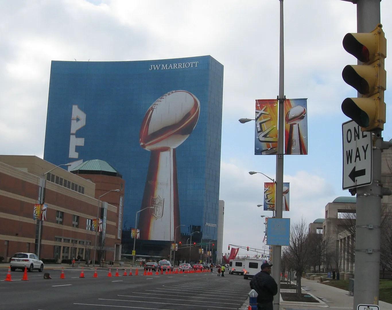 JW Marriott, Indianapolis, Super Bowl XLV