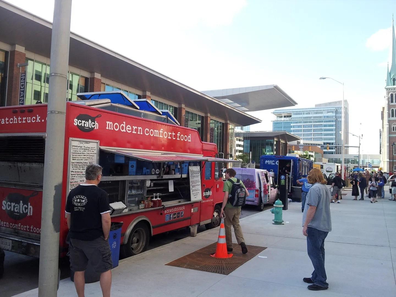 Indianapolis food trucks, GenCon 2013